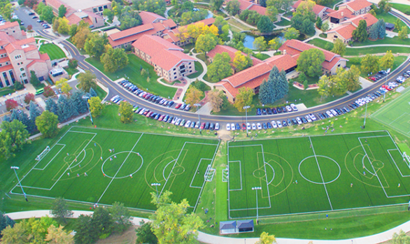 CU Boulder, Kittredge Soccer Fields, Colorado